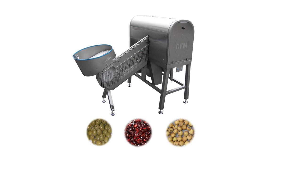 Deshuesadora - laminadora  de aceitunas, ciruelas y cerezas